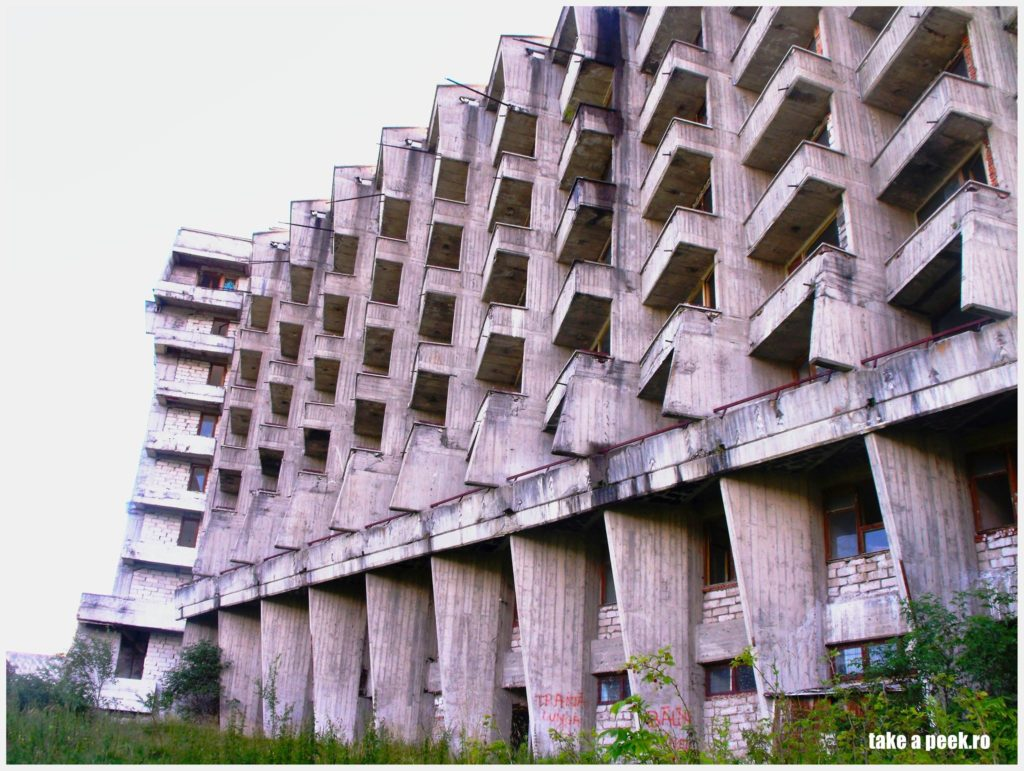 The main abandoned hotel
